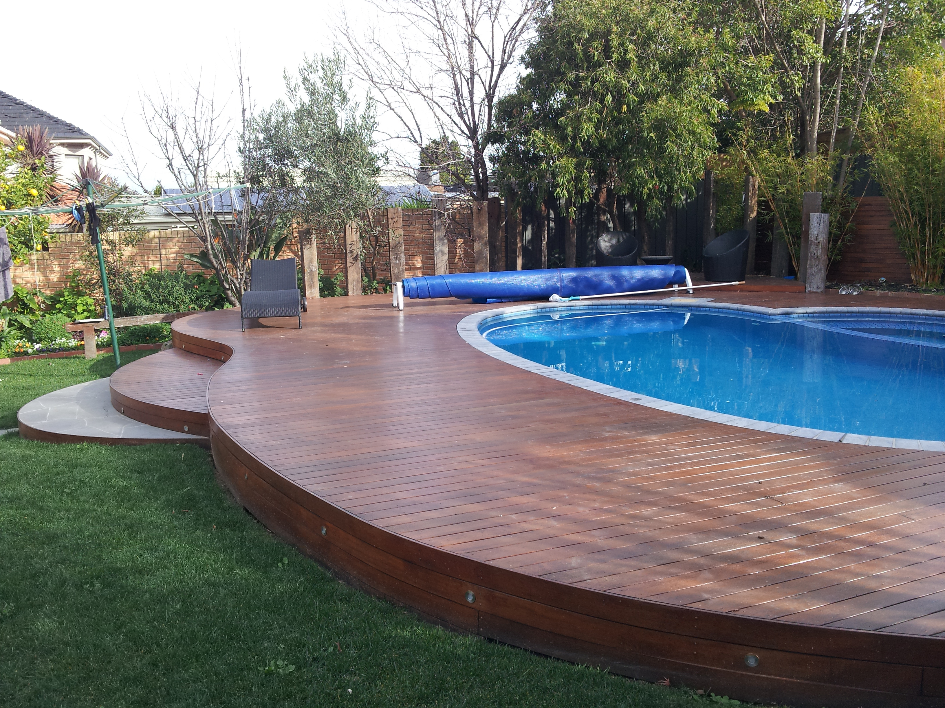 Decking projects deck it out for Best pool design 2015